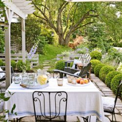 pretty backyard patio BHG