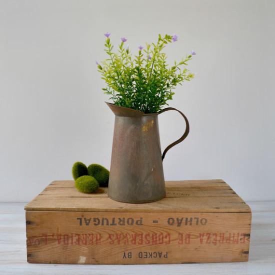 farmhouse pitcher etsy