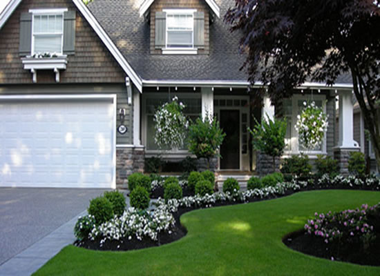 front yard garden design curb appeal tips