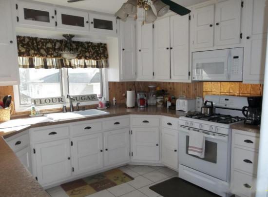 white kitchen victorian home tour