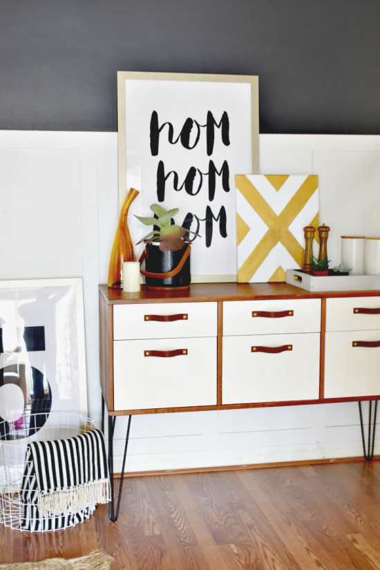 Credenza-with-Hairpin-Legs-2 - Houseologie