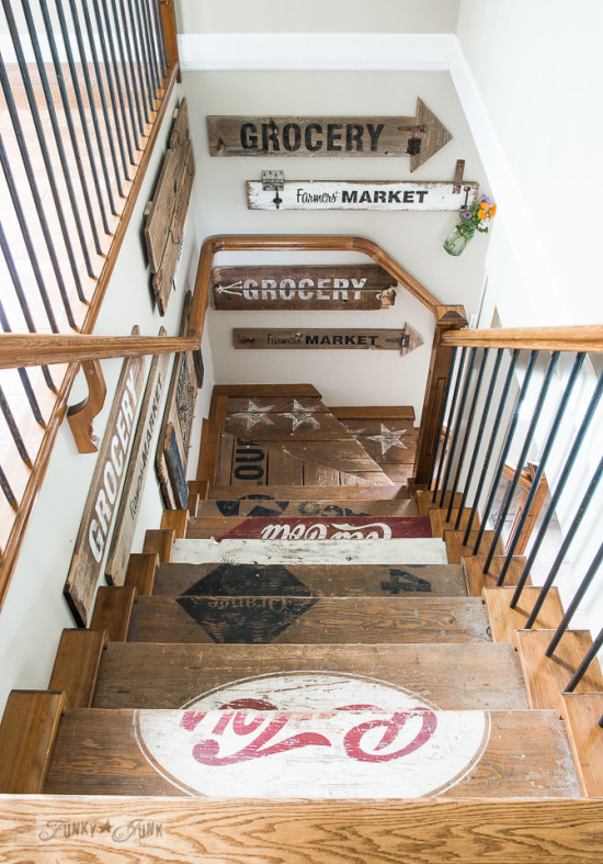 Staircase from Funky Junk Interiors