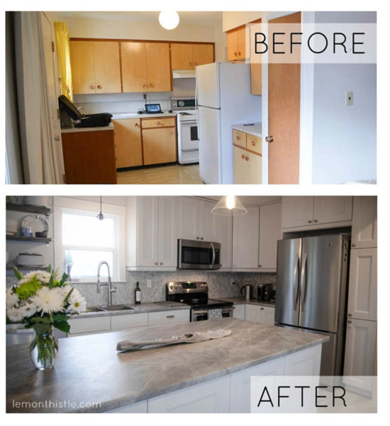 Lemom Thistle Kitchen Makeover