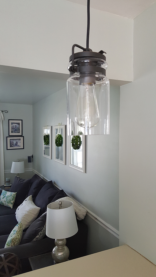 Mason Jar Pendant Light lamps plus