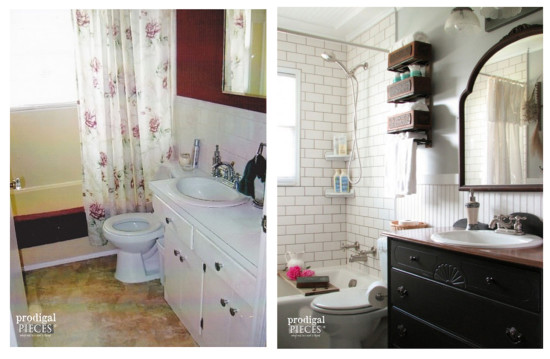 Prodigal Piece Bathroom Makeover