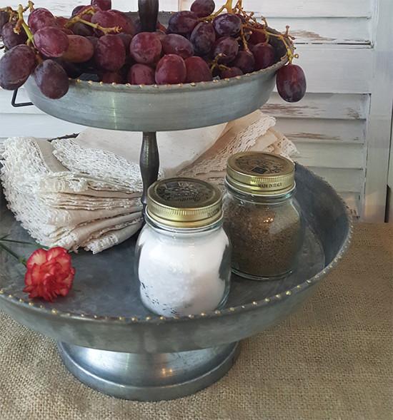 Salt and Pepper Shaker Mason Jars
