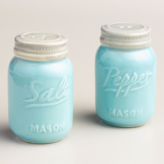 Mason Jar Salt And Pepper Shakers The Honeycomb Home