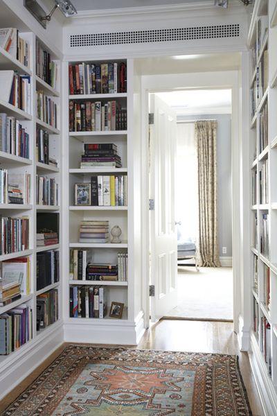 cwb architechts hallway library