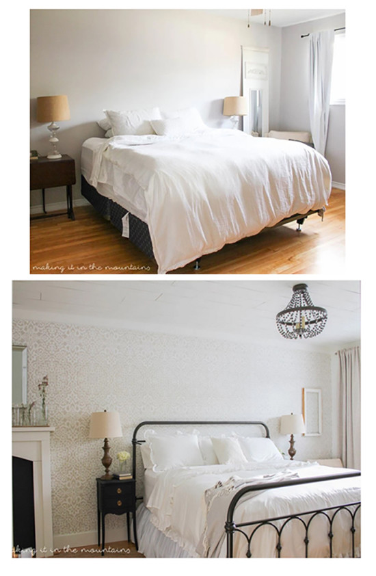 making it in the mountains farmhouse bedroom
