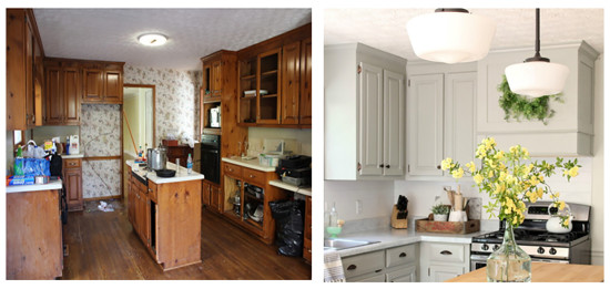 tale of an ugly house kitchen makeover