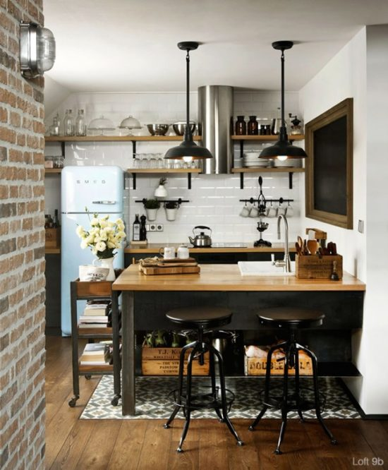 Eat-In Kitchen Islands - The Honeycomb Home