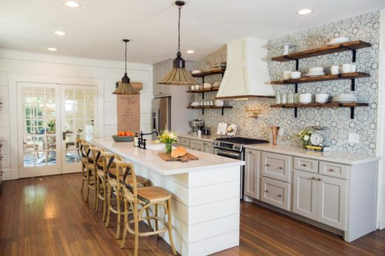 Exceptionnel Fixer Upper Kitchen With Island