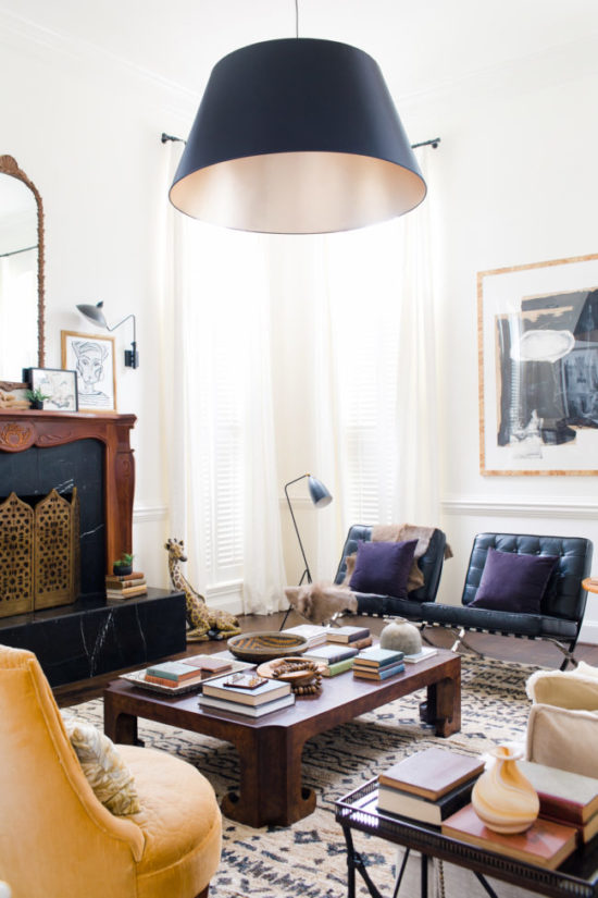 Claire Brody living room makeover