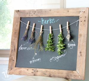 FI Herb drying rack diy