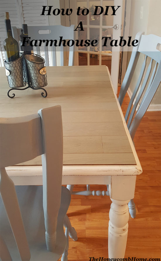 How to DIY A Farmhouse Table Pin