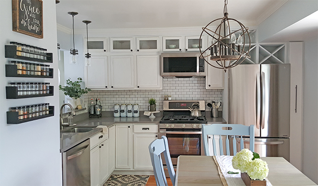 Kitchen Makeover Reveal & A Giveaway