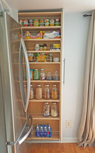 Organized Slide Out Pantry FI