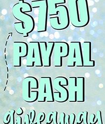 Paypal cash giveaway