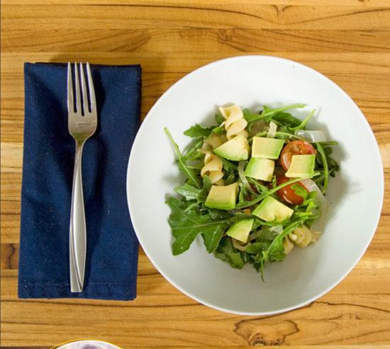 Summer Arugula Pasta Salad