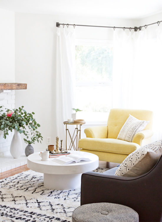light and bright living rooms