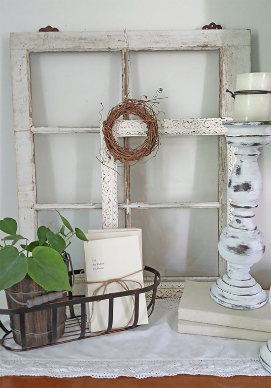 Decorating with Books bundle them with twine