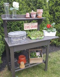 Organized Gardening Tools