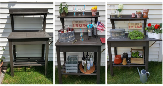 Potting Bench 2 Ways