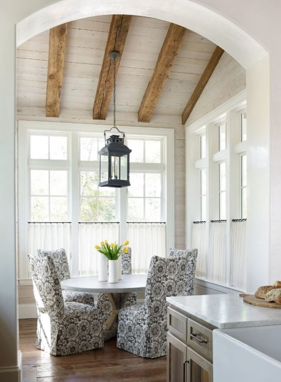 Rustic Dining nook