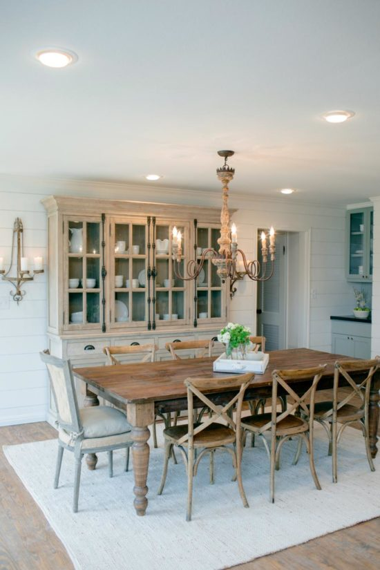 Fixer Upper Country Living Room