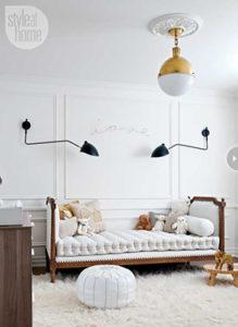 gorgeous white nursery