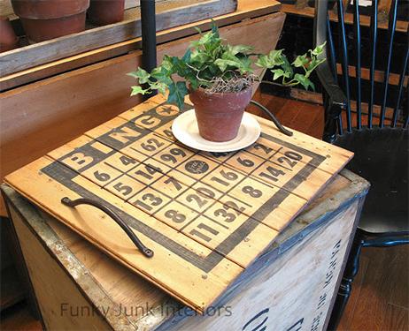creative upcycles funky junk interiors bingo tray