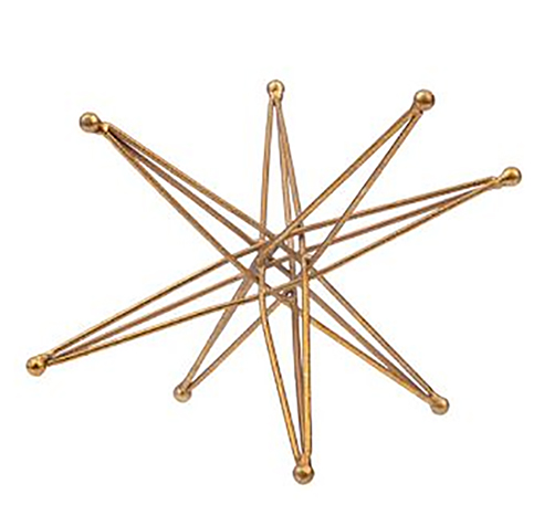 decorative sculpture star