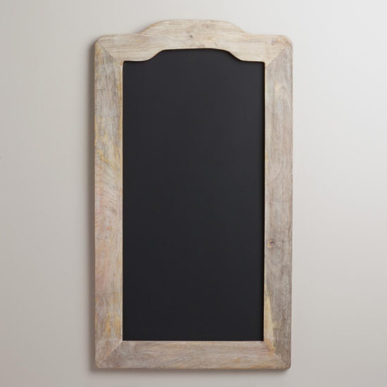 farmhouse chalkboard world market