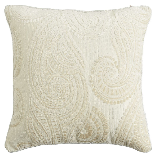 textured white pillow