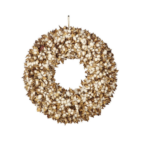 Cotton Wreath Joss and Main $175