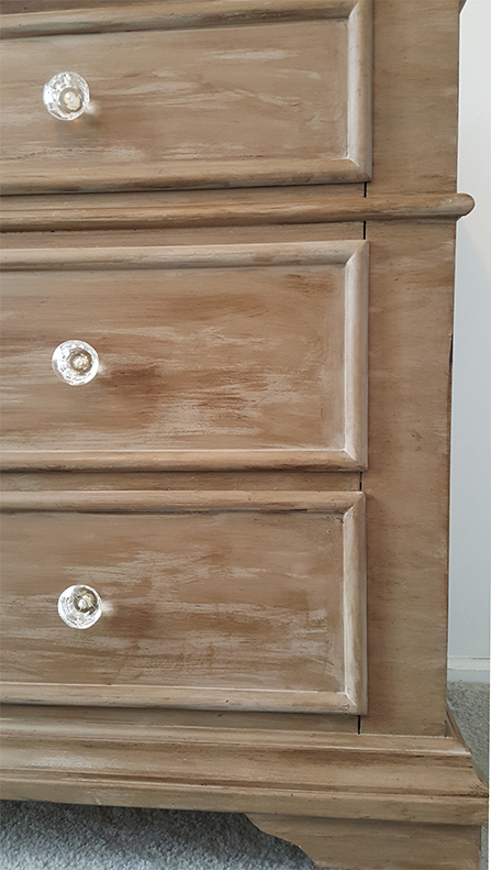 DIY Barnwood Dresser Makeover After