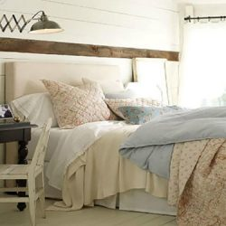 Coastal Farmhouse Bedroom