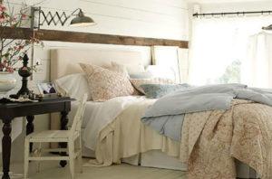 Coastal Farmhouse Bedroom