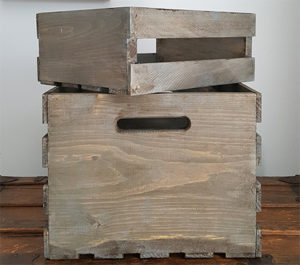 How to age wood for a weathered distressed rustic look