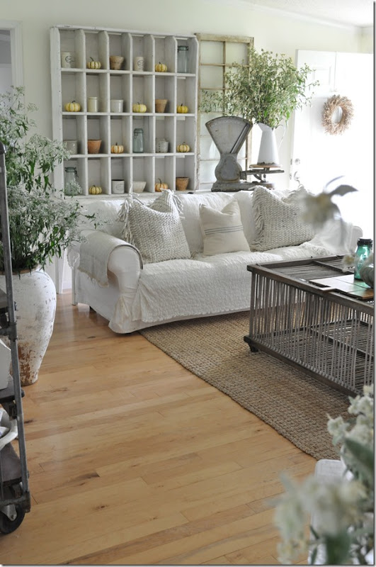 Country Farmhouse Living Room