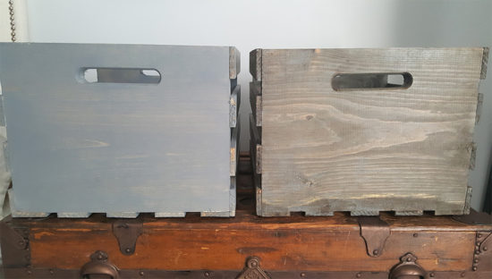how to age unfinished wood for a rustic weathered look