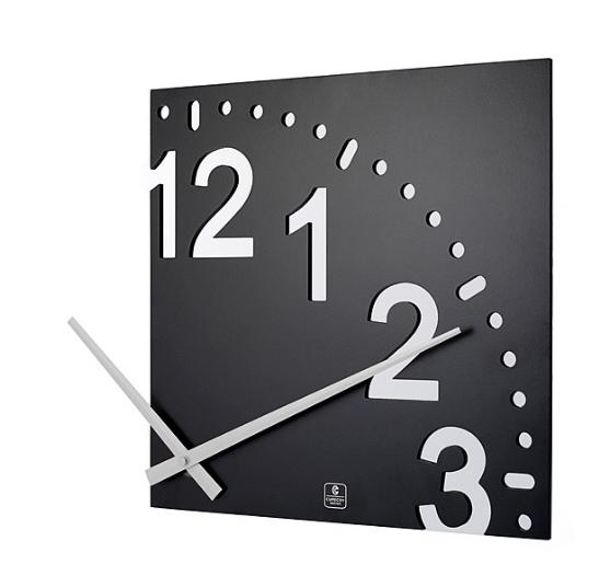unique home decor ideas-infinity-wall-clock