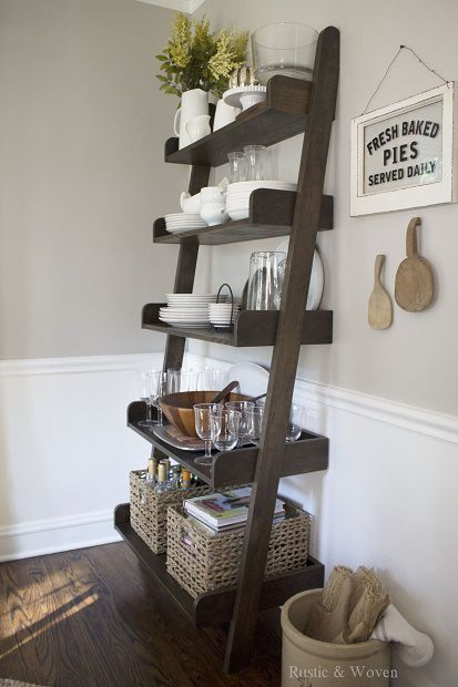 Decorating With Ladders The Honeycomb Home