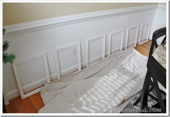 how to add picture frame molding architectural detail
