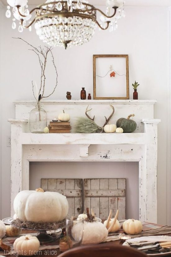 Beautiful Fall Mantel Thoughts From Alice