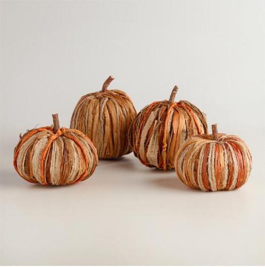 rustic pumpkins fall decorating ideas