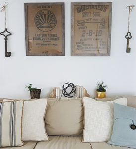 diy-wall-art-ideas-framed-burlap