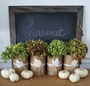 DIY Fall Vignette Inexpensive Fall Decorating Ideas