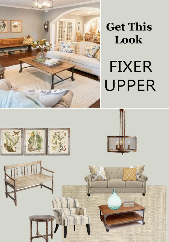 Get This Look Fixer Upper