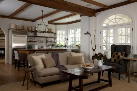 wood and white westbrook interiors